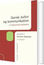 dansk, kultur og kommunikation - bog