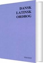 dansk-latinsk ordbog - bog
