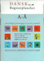 dansk med alle, bogstavplancher - bog