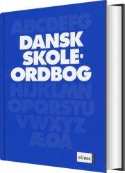 dansk skoleordbog - bog