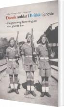 dansk soldat i britisk tjeneste - bog