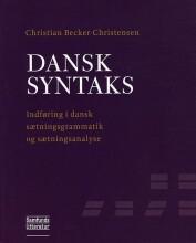 dansk syntaks - bog