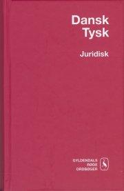 dansk-tysk juridisk ordbog - bog