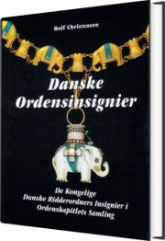 danske ordensinsignier - bog