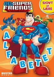 dc superfriends: sjovt at lære: alfabetet - bog