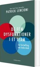 de fem dysfunktioner i et team - bog