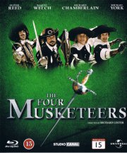 de fire musketerer / four musketeers - Blu-Ray