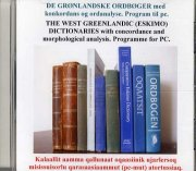 de grønlandske ordbøger med konkordans og ordanalyse - bog