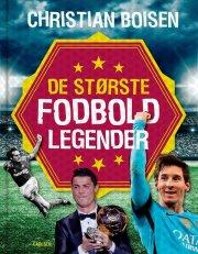 de største fodboldlegender - bog