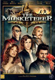de tre musketerer / the three musketeers - 2011 - DVD