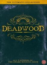 deadwood - den komplette serie - sæson 1-3 - DVD