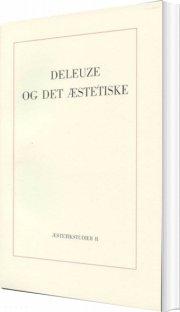 deleuze og det æstetiske - bog