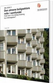 den almene boligsektors rolle i samfundet - bog