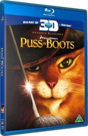 den bestøvlede kat / puss in boots - 3d - Blu-Ray