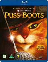 den bestøvlede kat / puss in boots  - BLU-RAY+DVD