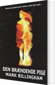 den brændende pige - bog