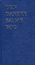 den danske salmebog - kirkesalmebog blå nyt omslag - bog
