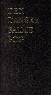den danske salmebog - luksus sort, tryk på ryg/front - bog