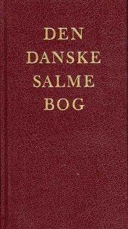 den danske salmebog - stor skrift rød gl. udg - bog