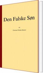 den falske søn - bog
