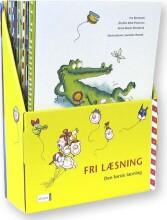 den første læsning 1.kl. fri læsning, sampak med 21 bøger - bog