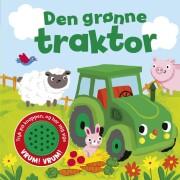 den grønne traktor - sjov med lyd - bog