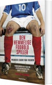 den hemmelige fodboldspiller - bog