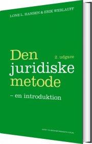 den juridiske metode - bog
