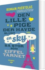 den lille pige der havde slugt en sky så stor som eiffeltårnet - bog