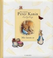 den originale peter kanin babybog/mit første år - bog