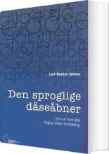 den sproglige dåseåbner - bog