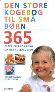 den store kogebog til små børn - bog