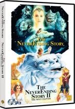 den uendelige historie / the never ending story 1 + 2 - DVD