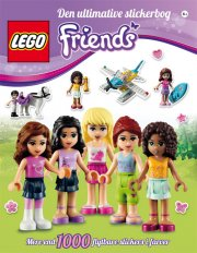 den ultimative stickerbog om lego friends - Lego