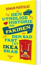 den utrolige historie om fakiren der sad fast i et ikea-skab - bog