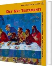 det nye testamente - illustreret - bog