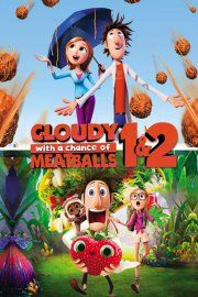 det regner med frikadeller / cloudy with a chance of meatballs 1 + 2 - DVD