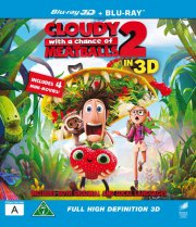 det regner med frikadeller 2 / cloudy with a chance of meatballs 2 - 3d - Blu-Ray
