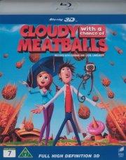 det regner med frikadeller - 3d - Blu-Ray