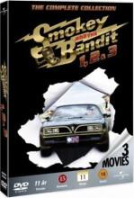 smokey and the bandit / det vilde ræs 1-3 box - DVD