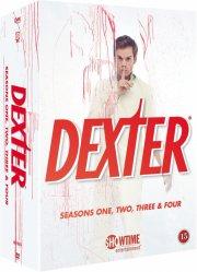 dexter collection - sæson 1-4 - DVD