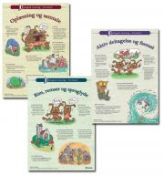 dialogisk læsning - 3 plakater  - A3