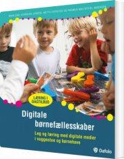 digitale børnefællesskaber - bog