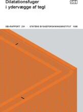 dilatationsfuger i ydervægge af tegl - bog