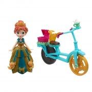 disneys frost - little kingdom - anna med cykel - Figurer