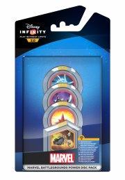 disney infinity 3.0 - marvel battlegrounds - power disc 4-pack - Figurer