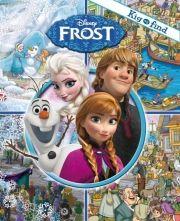 disney kig og find - frost - bog