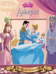 disney magiske historier - askepot - bog