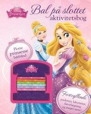 disney prinsesse aktiviteter med hårelastikker - bog