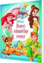 disney's vidunderlige eventyr - bog